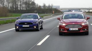 auto mobil - Ford Mustang GT vs. Ford Mondeo